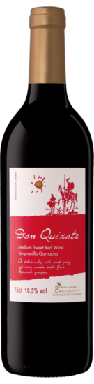 Don Quixote Red medium sweet