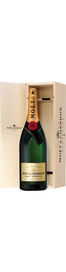 Moet  Chandon Brut Imperial with wooden box