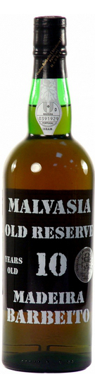 Barbeito Malvasia Old Reserve 10 Year Old