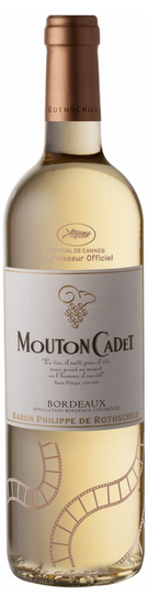 Mouton Cadet Bordeaux AOC Blanc Limited Edition Cannes