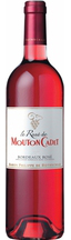 Le Rose de Mouton Cadet Bordeaux AOC