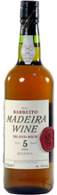 Barbeito Madeira Island Rich Sweet 5 years old