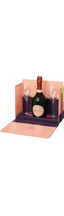 Laurent-Perrier Cuvee Rose Brut gift box with 2 glasses